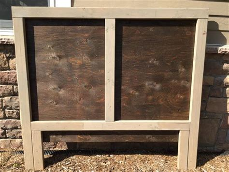 handmade wooden headboards pallet wood headboard pallet furniture diy