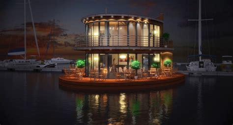 nautilus hausboot nautilus houseboat offers modern lifestyle and luxury