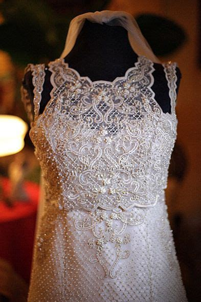 Filipino wedding, Lace embroidery and Wedding gowns on