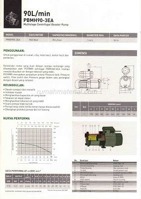 Mesin Pompa Booster Multistage Wasser Pbmh60 4ea multistage centrifugal booster wasser rumah material