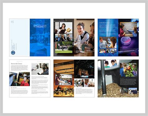 15 fresh catalog design ideas general design blog 18 college brochure design and print exles uprinting