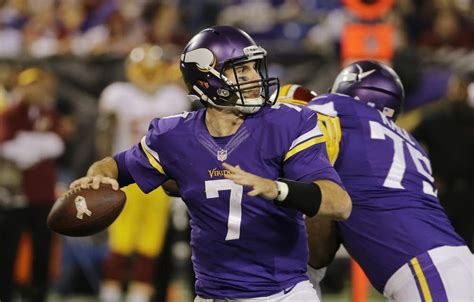 5 Half Situations To Ponder On by 5 Things To After Vikings Rally Past Redskins