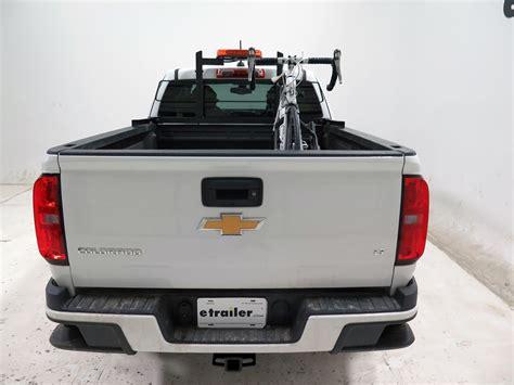 thule truck bed rack chevrolet colorado thule insta gater truck bed single bike