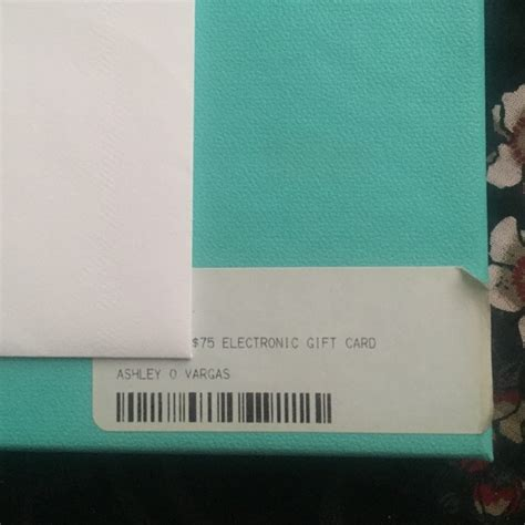 Poshmark Gift Card - 33 off tiffany co other tiffany co gift card from ashley s closet on poshmark