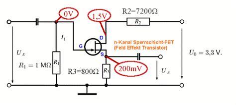transistor schaltung analysieren