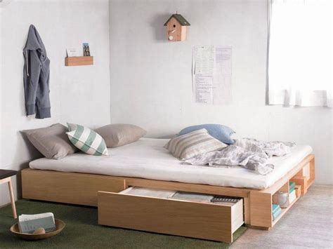xl bed frame with storage ideas give you more