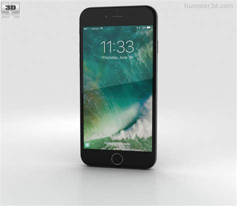 apple iphone 7 black 3d model electronics on hum3d
