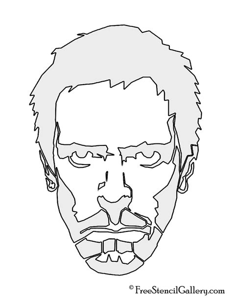 gregory house music gregory house m d stencil free stencil gallery
