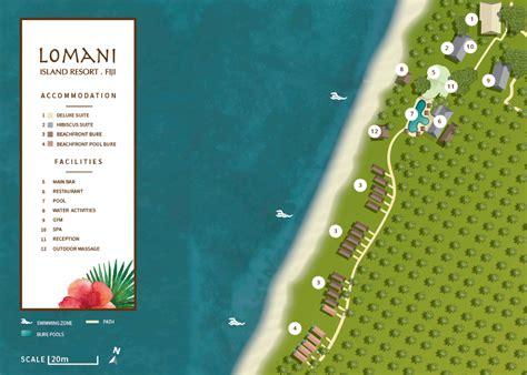 island resort map about fiji adults resorts