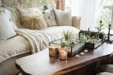 Glass Dining Room Table Tops bohemian jungle artist studio beach style living room