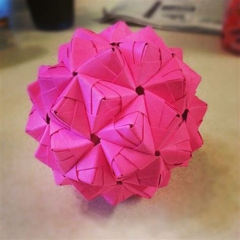Stellated Icosahedron Origami - quot a stellated icosahedron quot huh i thought it was just