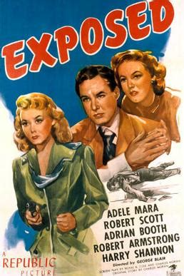 film exposed exposed 1947 film wikipedia