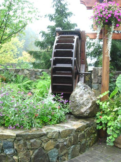 backyard water wheel 33 best images about water wheel landscape on pinterest