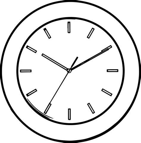 Jam Meja Dengan Gambar Pemandangan Alam 10 Mewarnai Gambar Jam Dinding