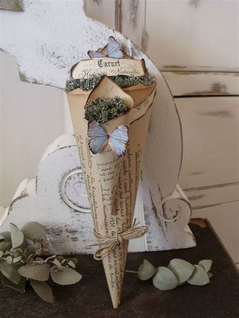 Craft Paper Cones - 43 best paper cone bouquet images on