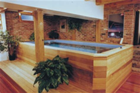 install a lap pool or swim spa indoors even basements