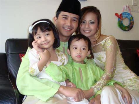 edisi hangat gambar keluarga bahagia aaron azizi yang comel comel the kaki wayang