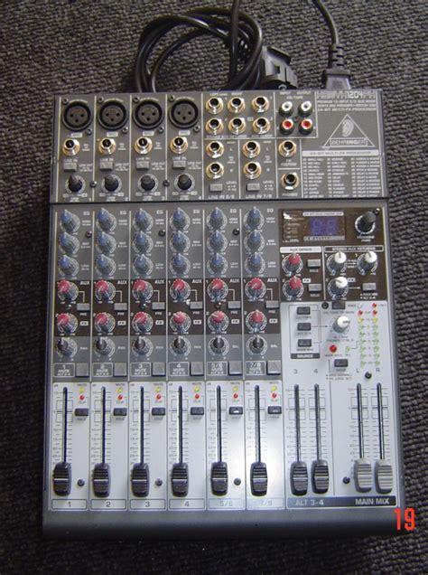 Mixer Behringer 1204fx behringer xenyx 1204fx image 320072 audiofanzine