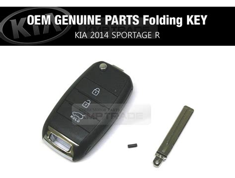Oem Kia Parts Oem Genuine Remote Insert Folding Key Set For Kia 2014 The