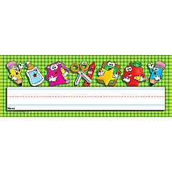 desk name plates office depot scholastic name plates 12 x 4 pack of 36 by