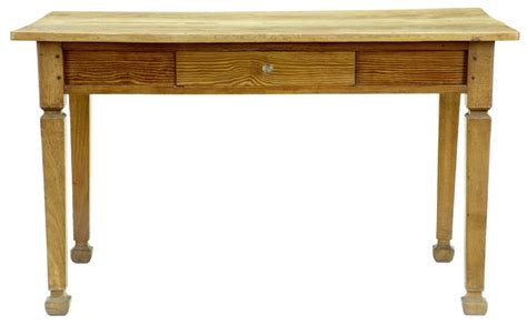19th century antique pine kitchen table 237628