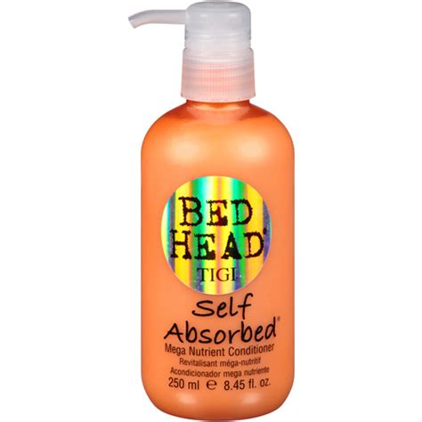 bed head self absorbed bed head tigi self absorbed mega nutrient conditioner 8