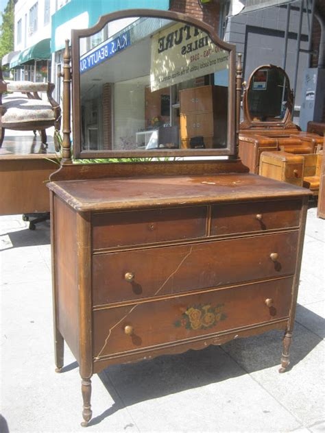 Antique Dresser With Mirror by Uhuru Furniture Collectibles Sold Antique Dresser And