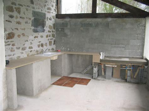 cuisine exterieure siporex cuisine d ete en beton cellulaire