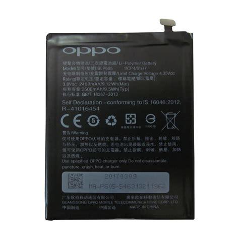 Batere Batery Batre Oppo R831k Original pin oppo neo 7 a33 blp605 2500mah original battery