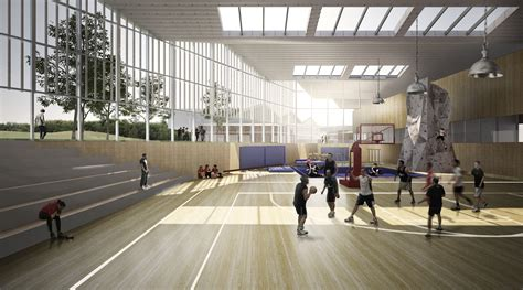 design guidelines for gymnasium inter national design win competition with modular school