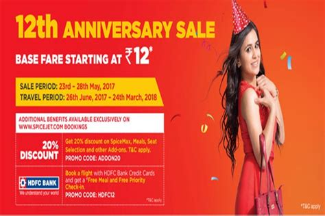 spicejet flight seat selection spicejet anniversary sale flight ticket fares starting at
