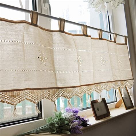 cafe style curtains for kitchens compare prices on cafe style curtains shopping buy
