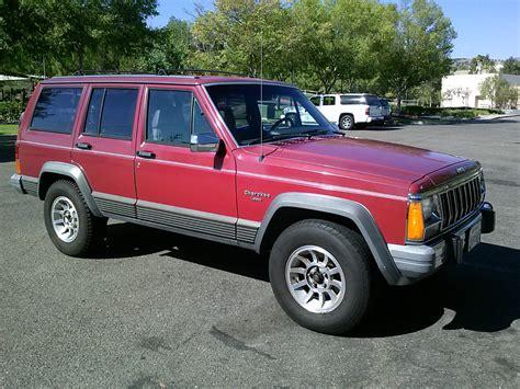 jeep laredo 1990 jeep cherokee laredo xj classic rust free california