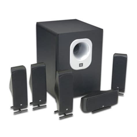 jbl scs500 5 scs series 5 1 channel home theater speaker