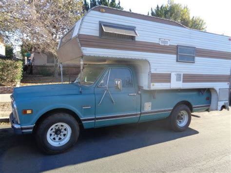 69 gmc truck for sale 1969 gmc c20 up truck cer bed chevrolet chevy