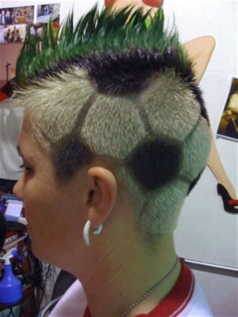 hairstyle for ball head soccer ball head by john flickr photo sharing