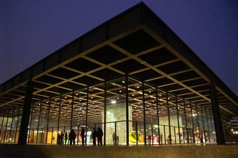 Neues Möbelhaus Berlin by Neue National Galerie A Photo From Berlin East Trekearth