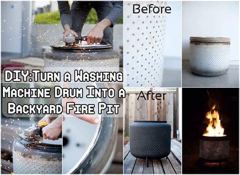diy pit washing machine diy washing machine drum into pit trusper