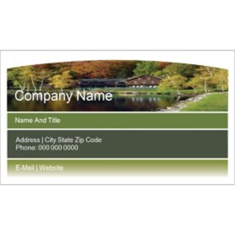 business card template wide 10 per sheet templates beautiful landscaped home business card wide