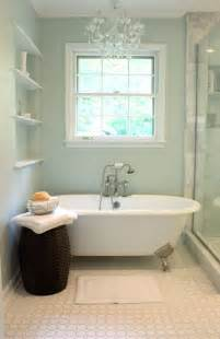 Cast Iron Tub Traditional Bathroom Sherwin Williams