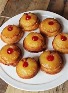 mini pineapple upside down cakes a beautiful mess