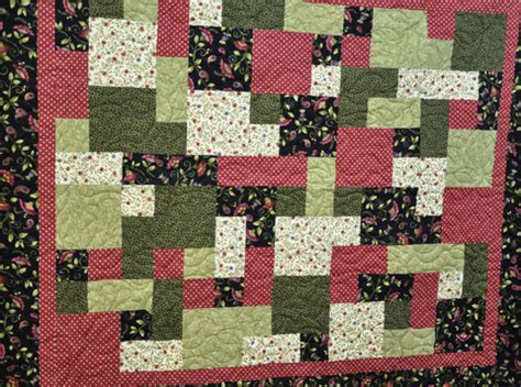 Take Five Quilt Pattern Free janet s green and floral take 5 quilt quilted thimble
