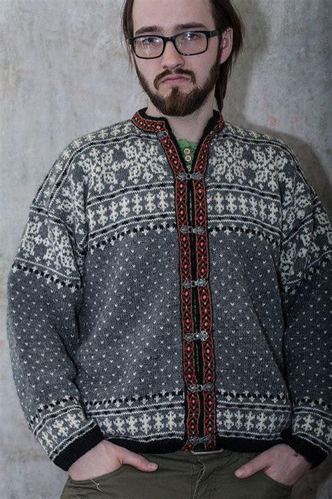 Cc Sweater 1968 nordic knitted cardigan sweater winter cardigan