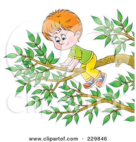 Boy On A Tree Branch   1 Posters, Art Prints by Alex