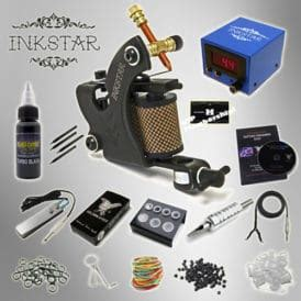inkstar tattoo kit kit inkstar venture c kit with radiant black ink