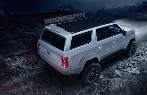 ford bronco 2020 4 door 2020 2021 ford bronco four door concept rendering 2020