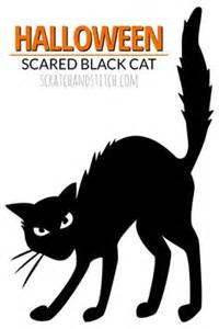 black cat templates for printable templates black cat template