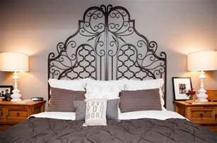 Ideas Design For Iron Headboards Wrought Iron Headboards Charm With Their Attraction
