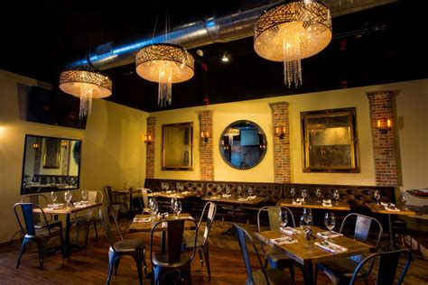Dining Room Bar And Grill Nitrogen Bar And Grill Dining Room Interior Photography