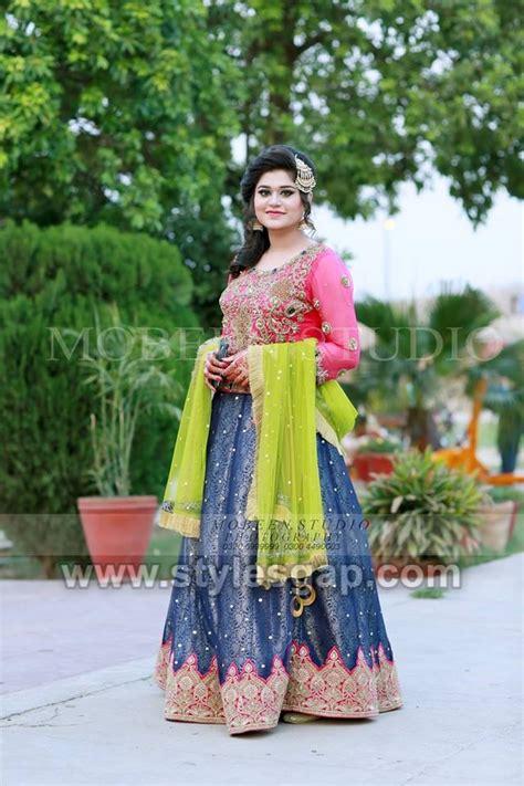 latest bridal mehndi dresses designs   collection